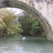 Арочный мост. Нижний монастырь Превели (Preveli monastery)