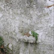 Деревушка в горах. Старинная коновязь у стены таверны.