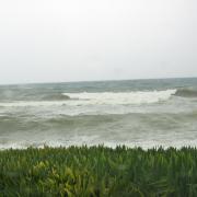 Крит. Штормовое январское море.