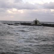 Гергеополис. Часовня в море