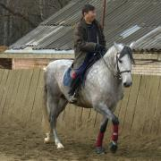 КСК Орлово. Гуру конного спорта Орлан Монгуш.